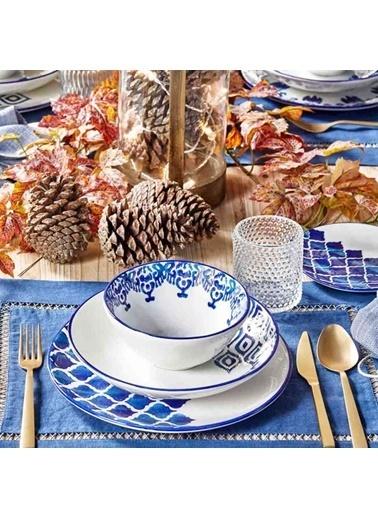 Bella Maison Ikat 48 Parça 12 Kişilik Yemek Takımı Renkli